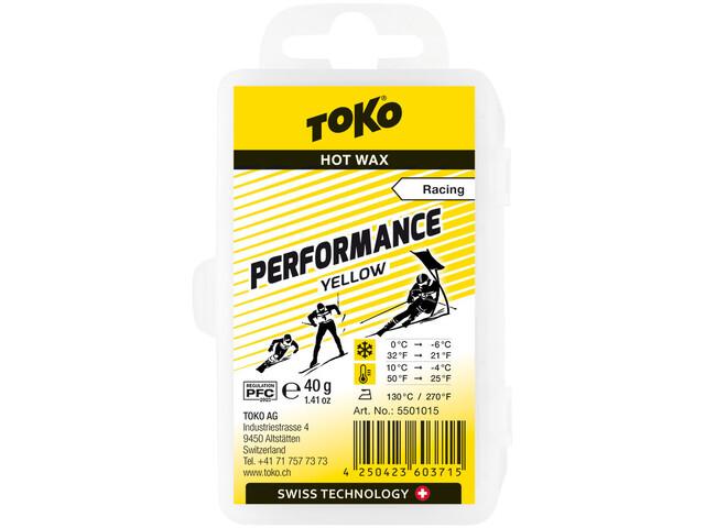 Toko Performance Hot Wax Amarillo 40g